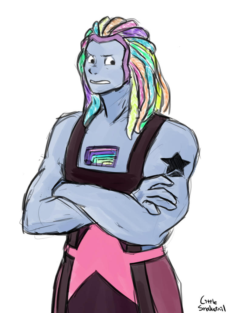 For jessicathecrazycat  I don't think I've drawn Bismuth properly before : D Steven Universe (C) Rebecca Sugar/CN