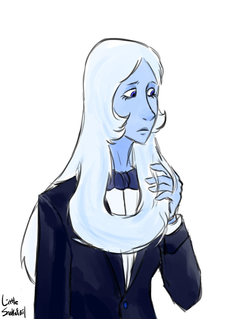 Blue Diamond in a tuxedo for Idekz Steven Universe (C) Rebecca Sugar/CN