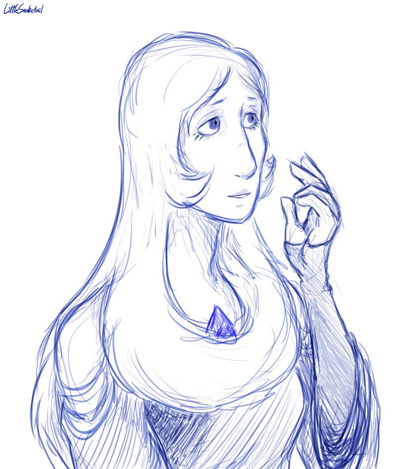 Sketch Steven Universe (C) Rebecca Sugar/CN