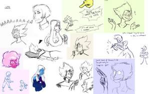 Sketchdump 4 by LittleSnaketail
