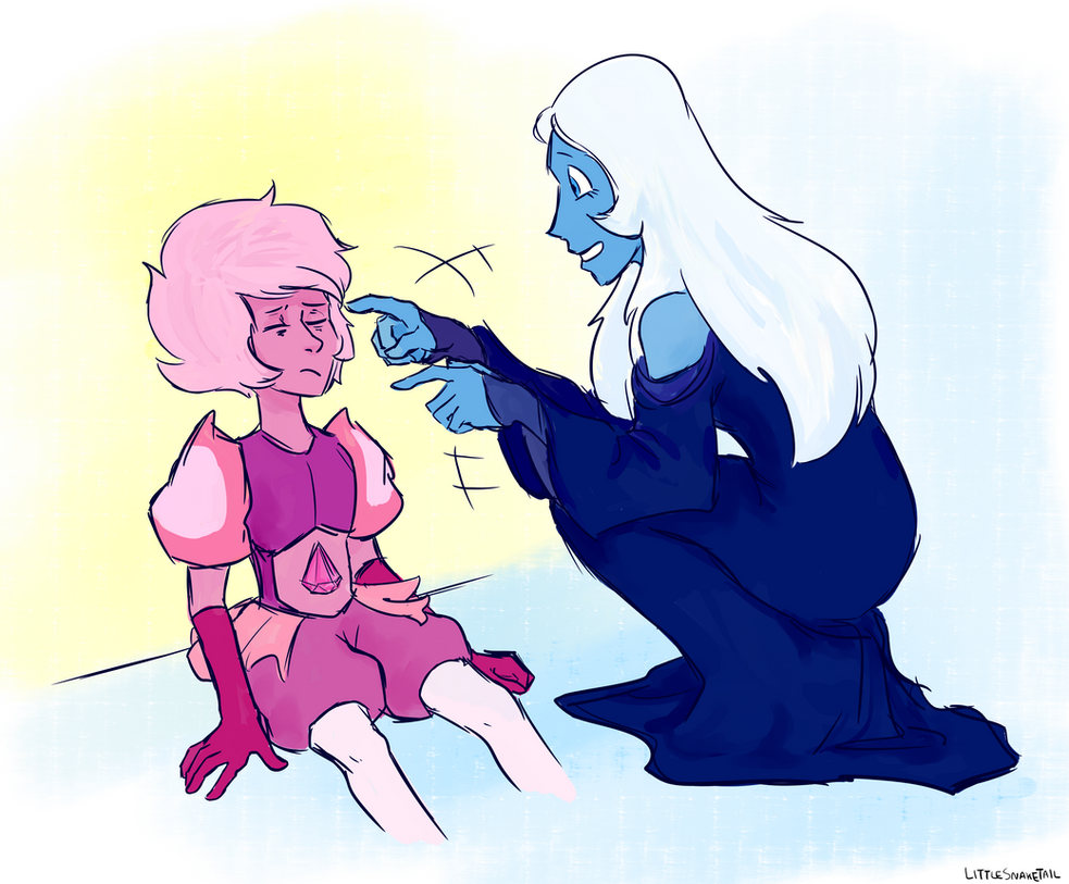 Parody of that one scene with Pearl and Steven