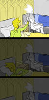 Creepy night light by LittleSnaketail
