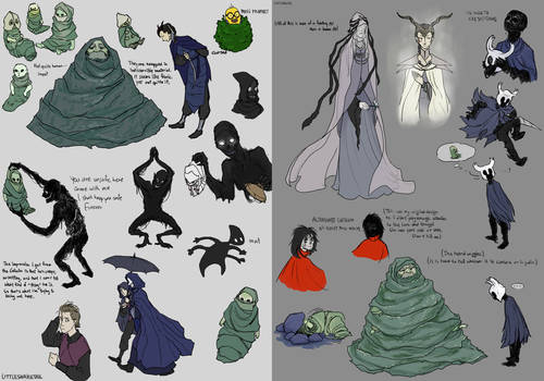 Hollow Knight - Various characters (again)