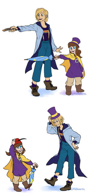 A Hat in Time and Space