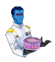 Grand Admiral's Cake [Commission]