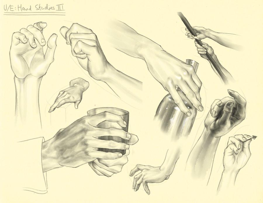Hampton p.160-177: U/E - Hand Studies III by theThirdCartel