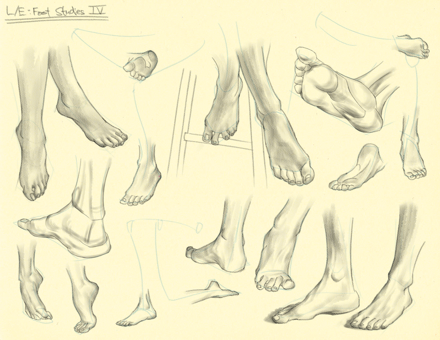 Hampton p.202-217: L/E - Foot Studies IV by theThirdCartel
