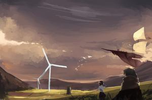 wind field by panjol1212