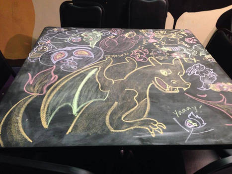 August 2014 Chalk Table