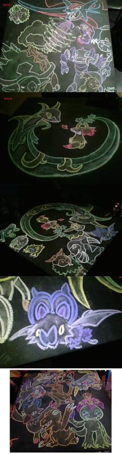 September 2014 Chalk Tables