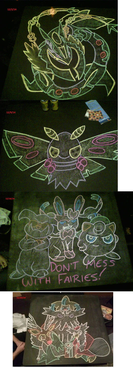 December 2014 Chalk Tables