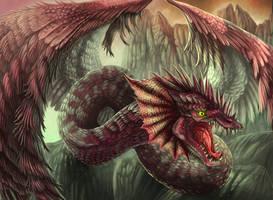 Red dragon by bibadlo