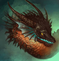 Dragonhead by bibadlo