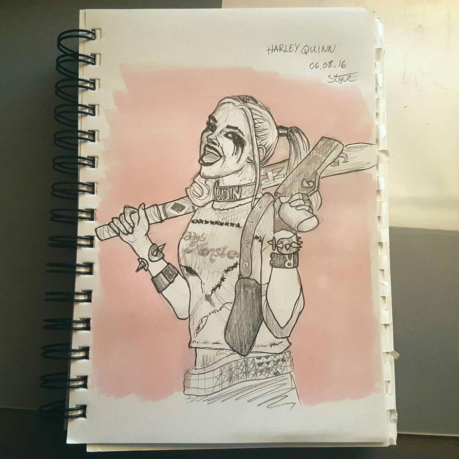 Harley Quinn -fan art by StineCyanine