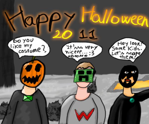 Happy Halloween by sor1n
