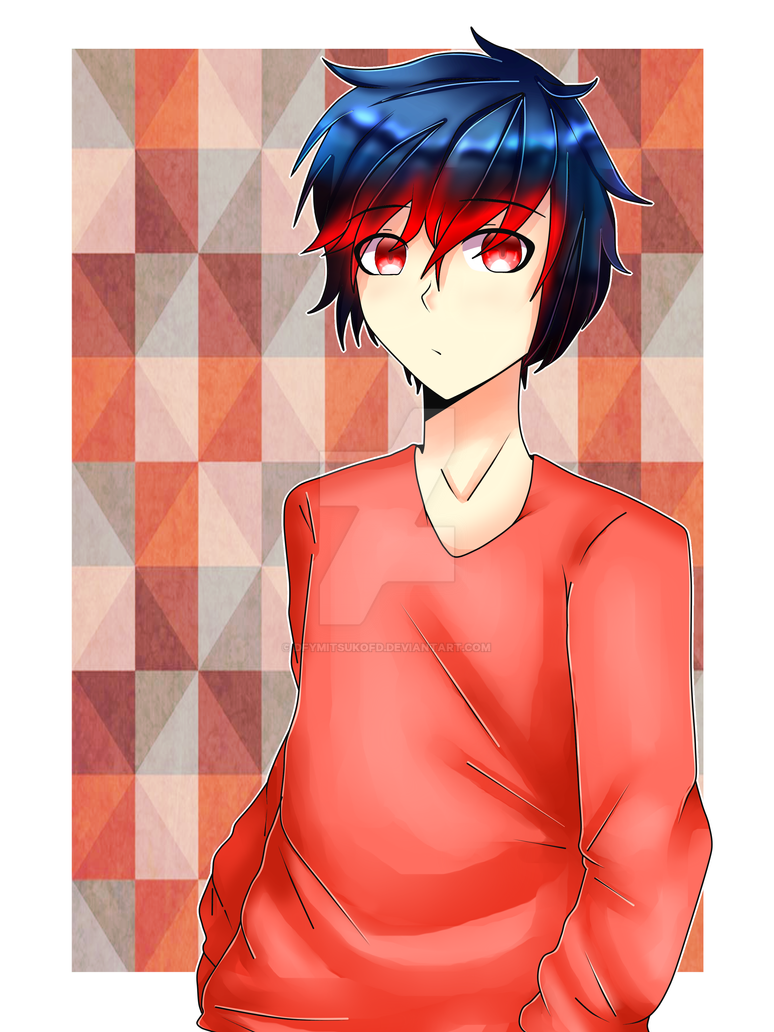 Anime boy~ by dfYMitsukofd