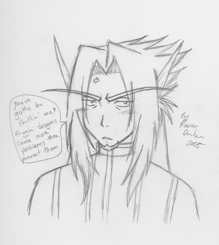 Just a Levi sketch by RavenDunbar