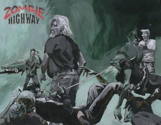 Zombie Highway by Bewheel