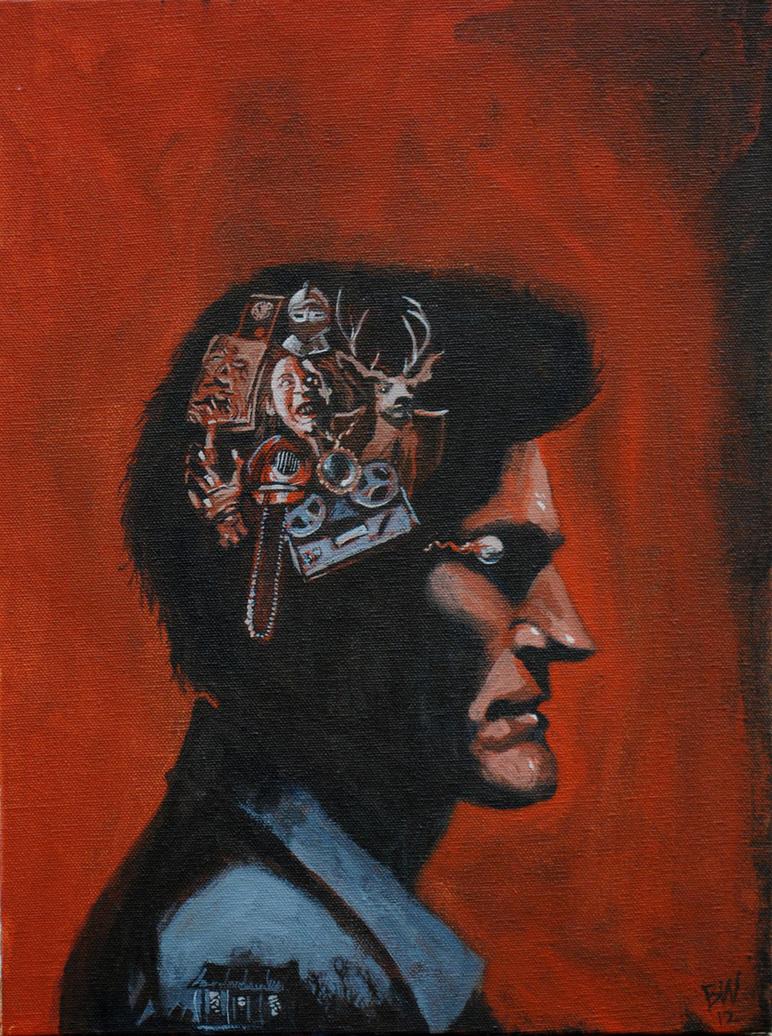 Evil Head by Bewheel