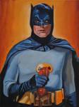 Batman w/phone