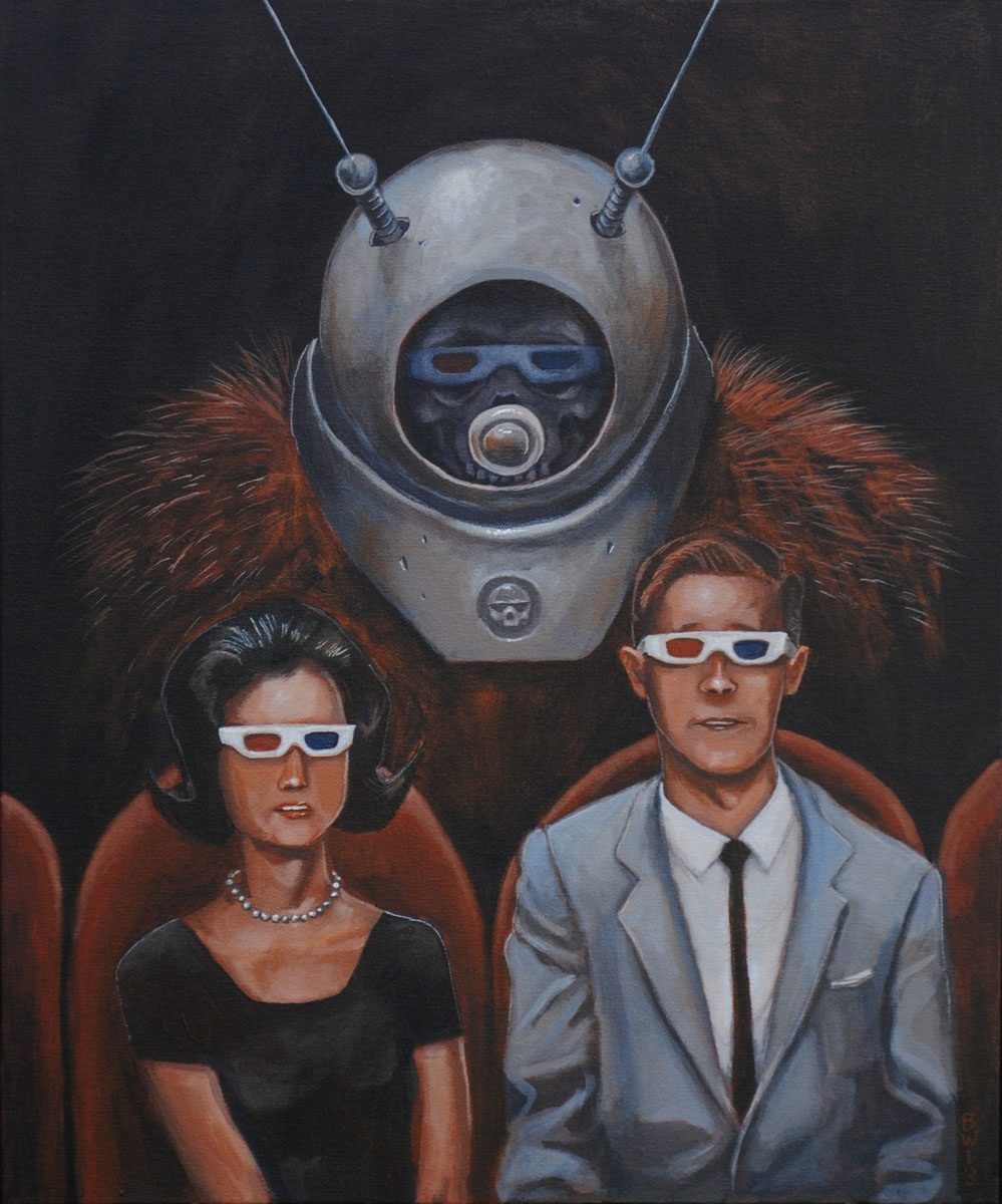Night at the cinema: Robot Monster by Bewheel