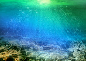 deep blue sea 4 by mudukrull