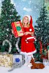 Santa Cutie Leo by mudukrull