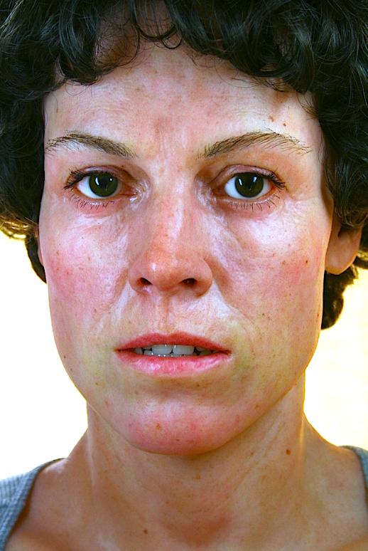 Hyper Real Silicone Sigourney Weaver Bust by SculptorSteven