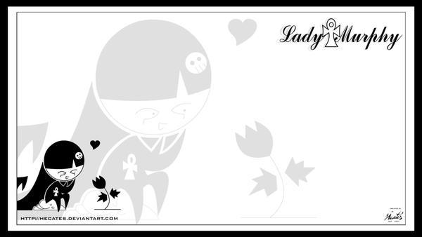 Lady Murphy Wallpaper