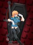 Blue Police Girl