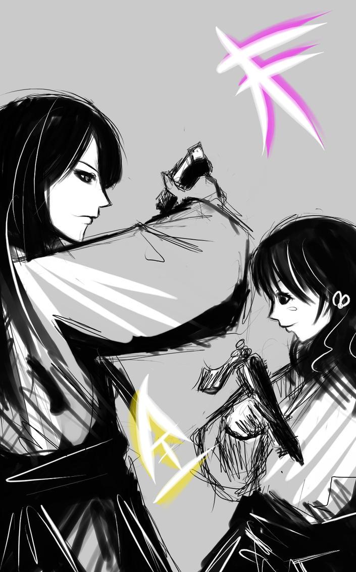 Mako and Kotoha by Mister-Shine on DeviantArt