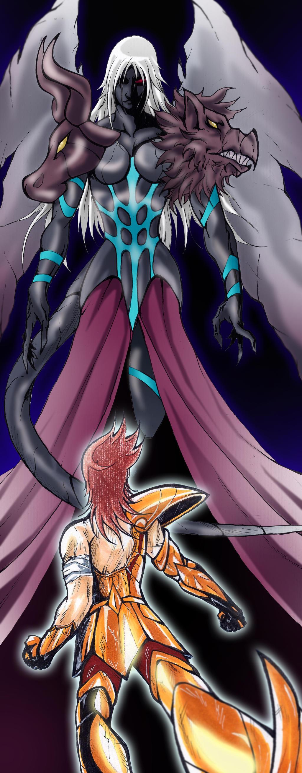 Saint Seiya FanArt - Omega