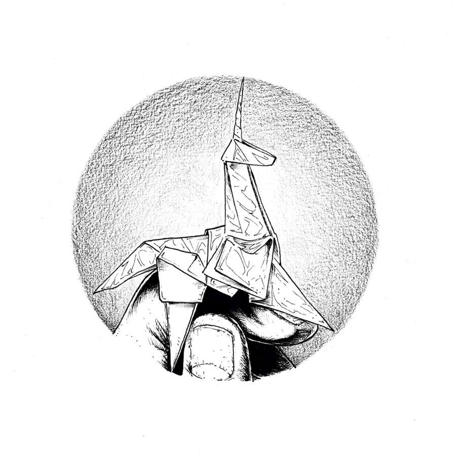 Blade Runner Origami Unicorn By Ka4 On Deviantart