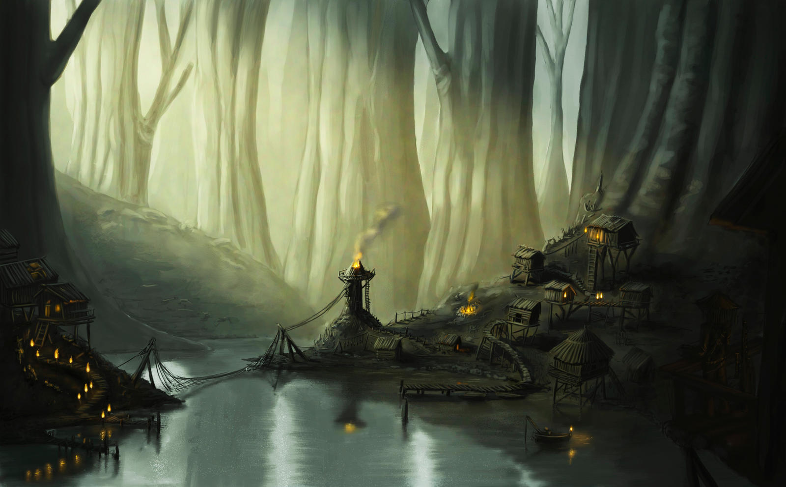 Village by LactroX