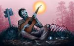 Plucking Zombie