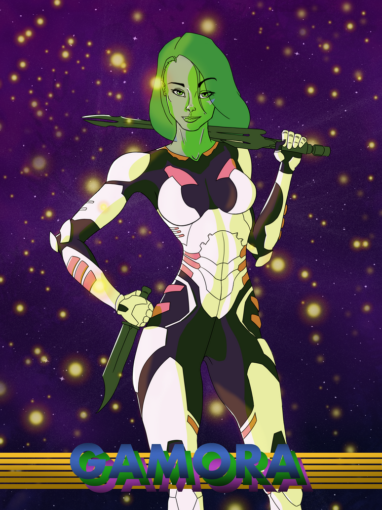 Gamora by Darkevor