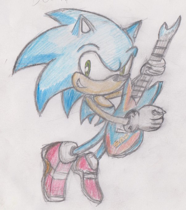 _coloured_pencils__sonic_the_rocking_hed