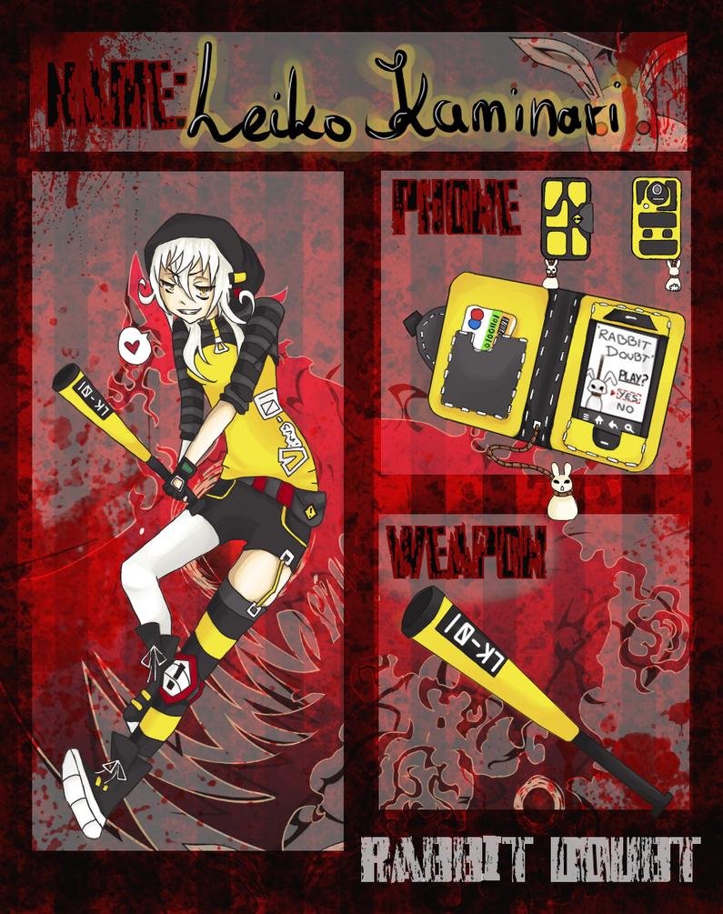 RD: Leiko Kaminari by KiwiLone