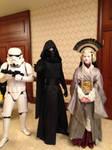 Stormtrooper, Kylo Ren, Queen Amiadala