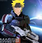 -Cross- Naruto in Mass Effect3