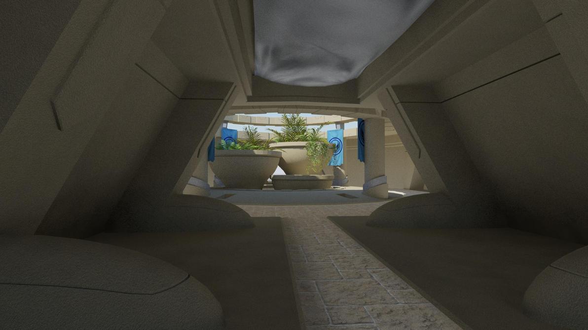 Kotor  Dantooine Enclave Storage Room