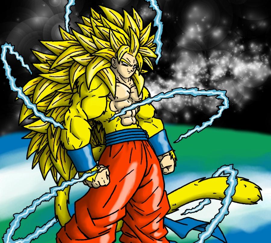 Super saiyan 5 fusion colored by eternal dahaka on deviantart - Super sayen 5 ...
