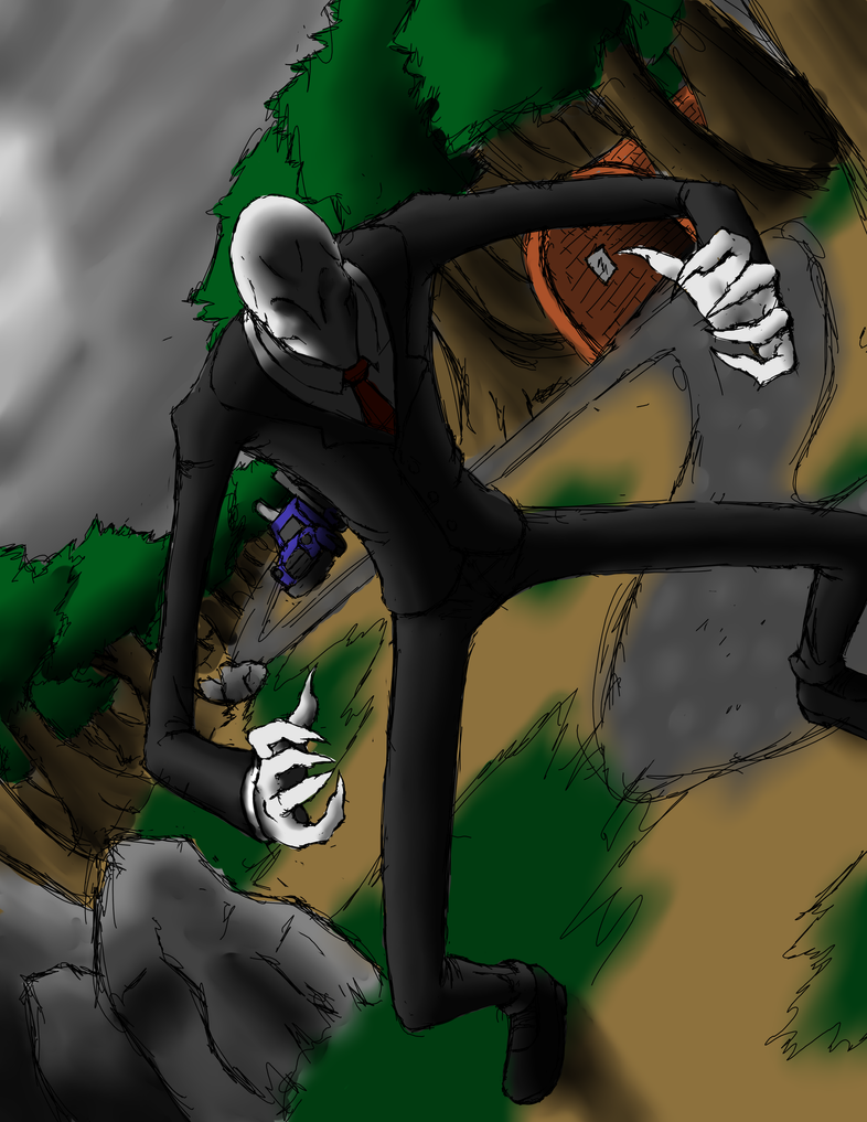 Slender by Eternal-Dahaka