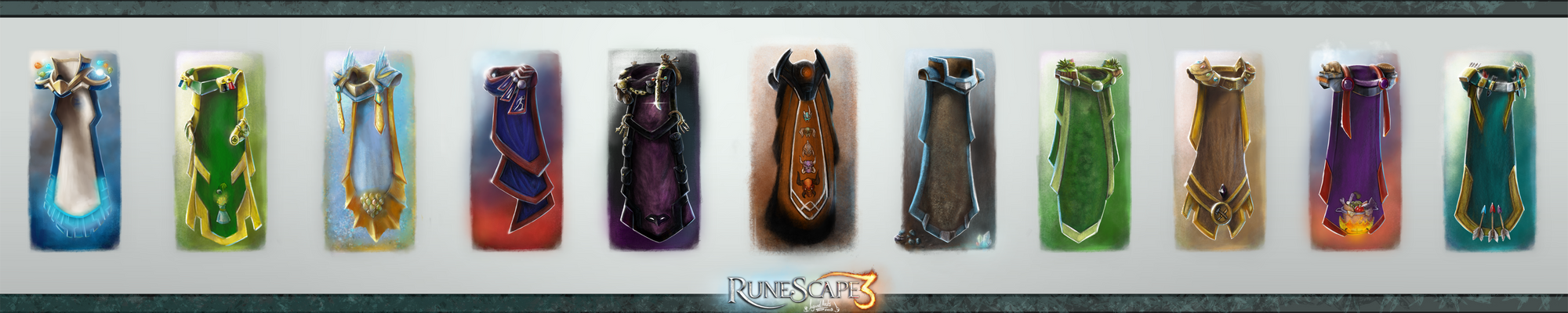 Rs SkillCapes Level99 Epicness  VOL II
