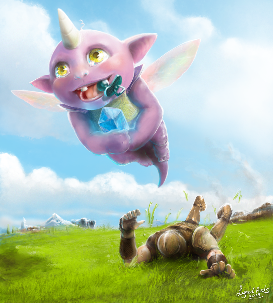 BABY IMPLING! by Valhelsing2