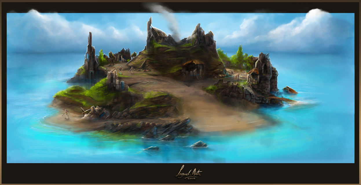 THE ISLE OF CRANDOR by Valhelsing2