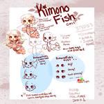 (NEW species) KIMONO FISH! by Getanimated