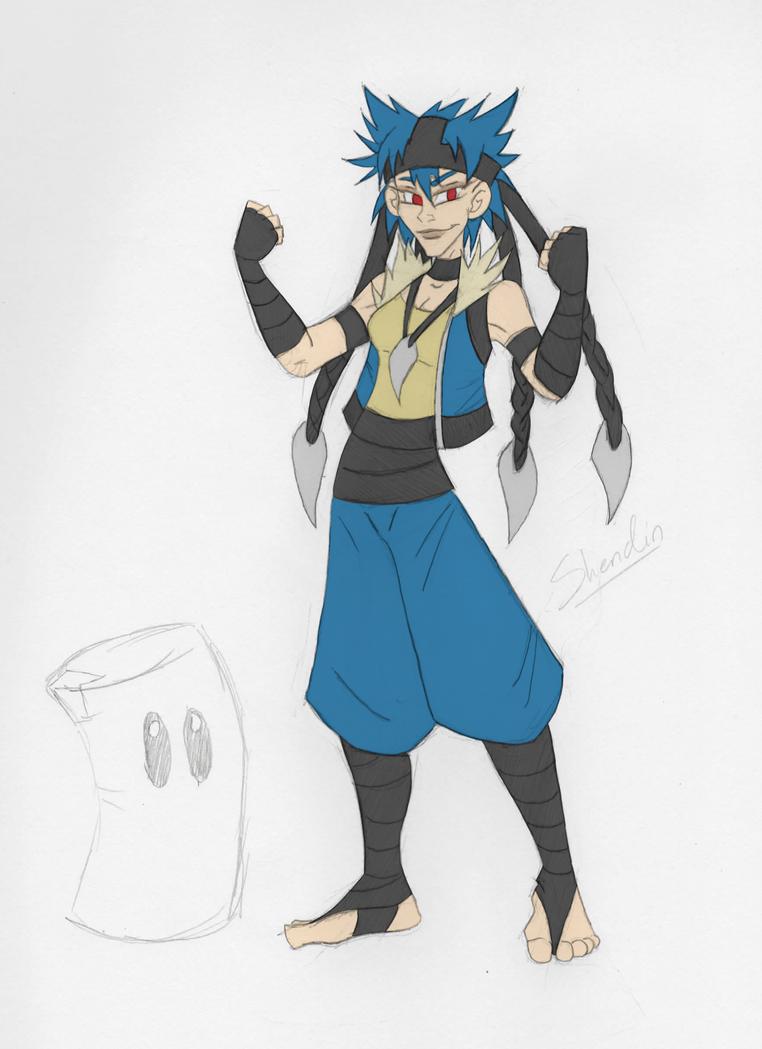 lucario gijinka cosplay draft by shendin on deviantart