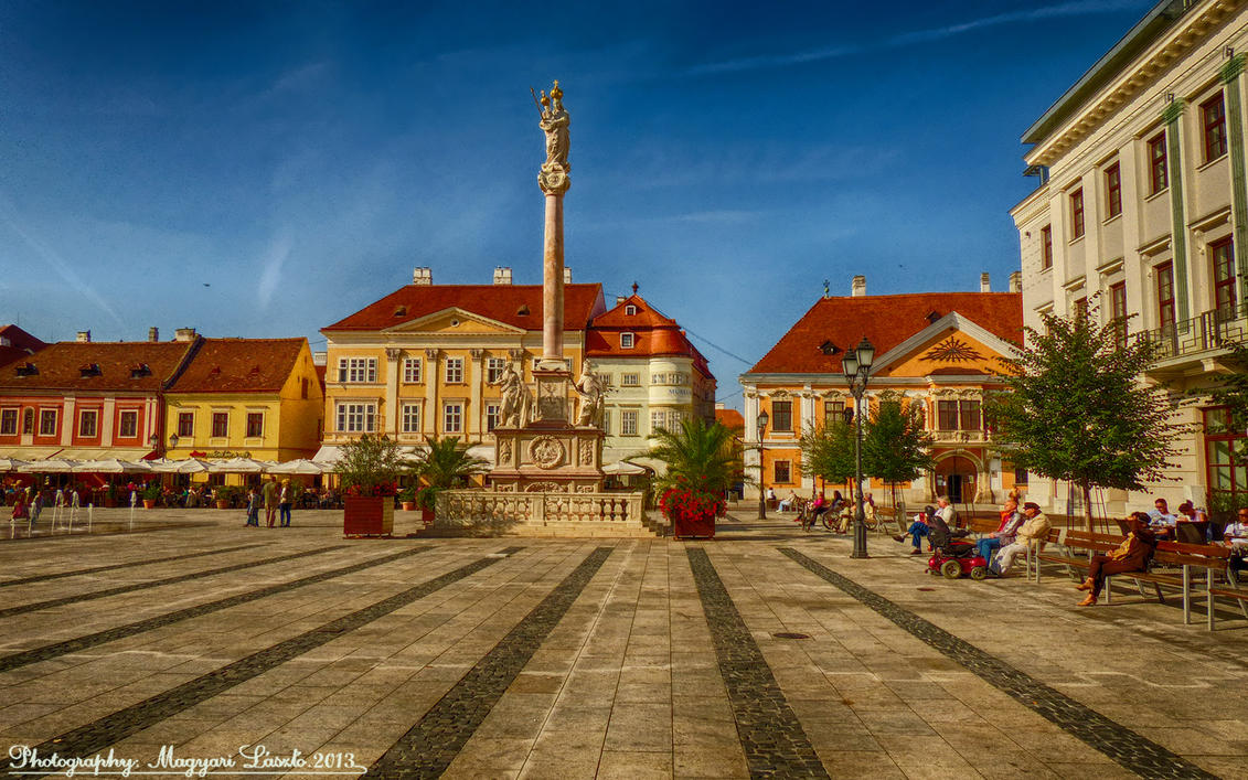 Gyor Hungary  City pictures : Gyor. Hungary. HDR. by magyarilaszlo on deviantART