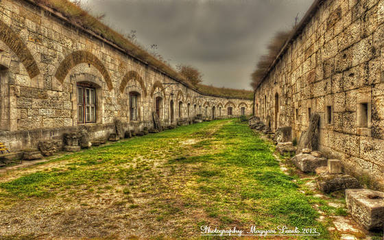 The Komarom fort .(Hungary) HDR.